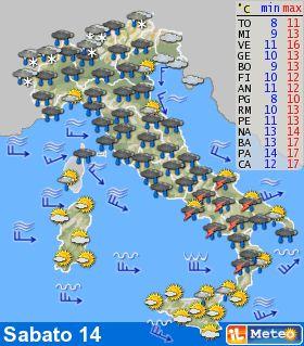 Meteo al sud in atto il mini ciclone lucy successivamente temporali bel tempo la settimana - Il meteo bagno di romagna ...