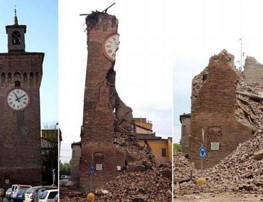 Terremoto in emilia romagna sosteniamo le popolazioni for Oggi in romagna